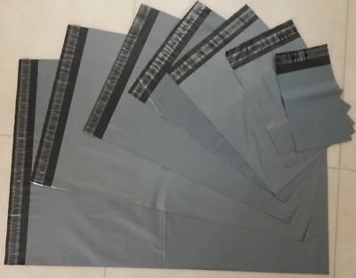 Parcel Strong Grey Mailing Bags Postal Packaging Envelope Heavy Duty Pack Of 100