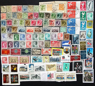 Luxembourg Stamps Old And New