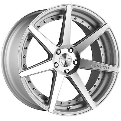 20 Vertini Dynasty Grey Concave Staggered Wheels Rims Fits Tesla