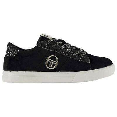Sergio Tacchini Now Velvet Infants Girls Sneakers Low Laces Fastened Padded
