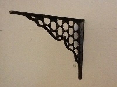 6 Webb Cast Iron Wall Shelf Brackets  Antique Style Corbell Rustic FREE SHIPPING