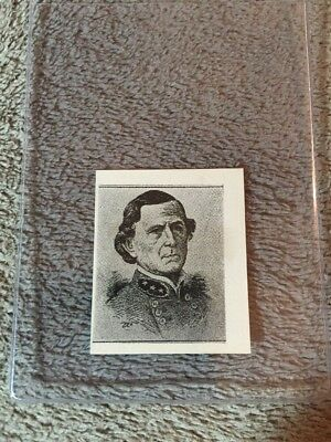1910's Colgan Gum Confederate Portrait Card - Jones Withers Alabama #95