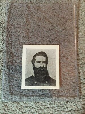 1910's Colgan Gum Confederate Portrait Card - Turner Ashby Virginia #101