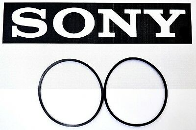 Sony CDP-M333ES M333 ES 400 CD Changer 2 CD Loading Belt Set New Replacement