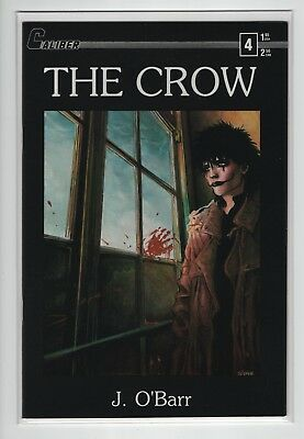The Crow #4 (1989 original series) 1st Print / Very Fine RARE Caliber O'Barr