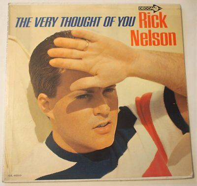 Rick Nelson The Very Thought Of You 1964 LP Vinyl Ex Nice Original Mono DL 4559