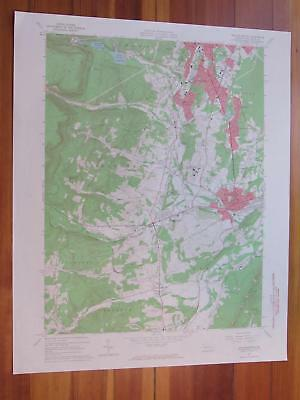 Hollidaysburg Pennsylvania 1965 Original Vintage USGS Topo Map