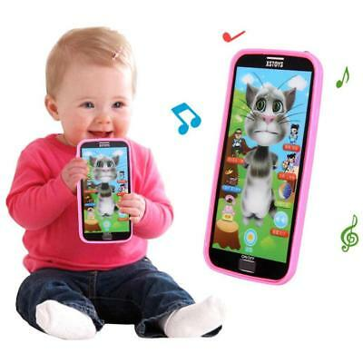 Kids Simulator Music Phone Touch Screen Kid Educational Learning Toy Gift UP