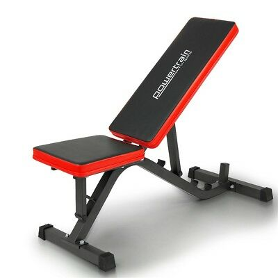 Powertrain Adjustable Incline Decline Home Gym Bench