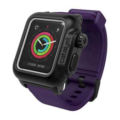 Catalyst - Case for Apple Watch38mm Series 2 and Series 3 - Black/Purple