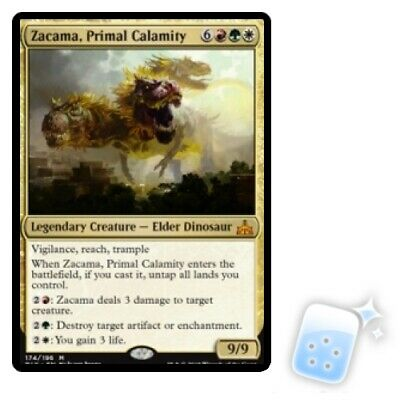 ZACAMA, PRIMAL CALAMITY Rivals Of Ixalan RIX Magic MTG MINT CARD