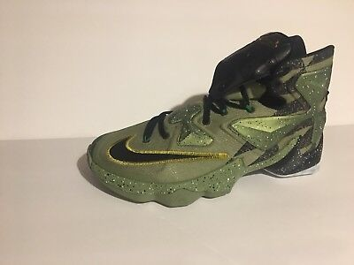 59b349dc6791 Nike Lebron XIII 13 835659 309 All Star Alligator US sz11 Green Black Multi