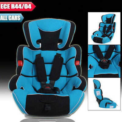 AU Blue Rear Forward Convertible Baby Kid Children Car Seat Booster Seat 9-36kg