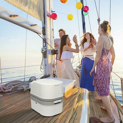 5 Gallon 20L Toilet Flush Portable with Wash Basin Sink Wastewater Recycled HDPE