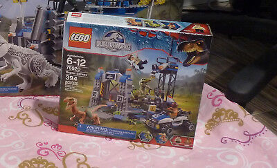 LEGO Jurassic World Dinosaurs Raptor Escape 75920 New sealed shipped in 2 boxes