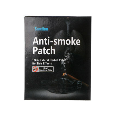 35pcs Practical Natural Nicotine Ingredient Patches Stop Smoking Cessation Patch