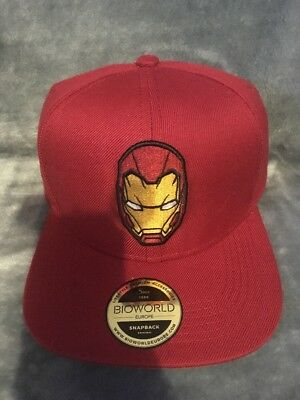 Captain America Civil War - Iron Man Snapback BNWT