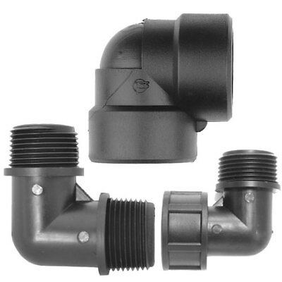 Threaded Pipe Fitting Threaded Plastic Elbow Water Pipe Fittings 90 Degree Bend