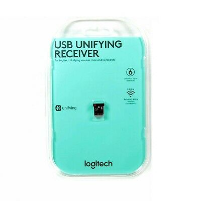 Logitech Usb Receiver Unifying 2.4 Ghz Wireless For Mice Keyboard New 910-005239