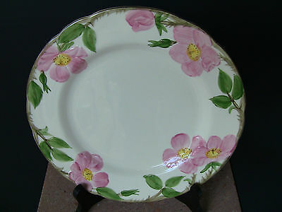 Franciscan Desert Rose Made in USA Cream Dinner Plate 10 1/2""