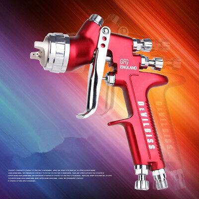 Devilbiss GFG HVLP Spray Gun Professional Car Paint Gun 1.3mm nozzle 600ml Pot