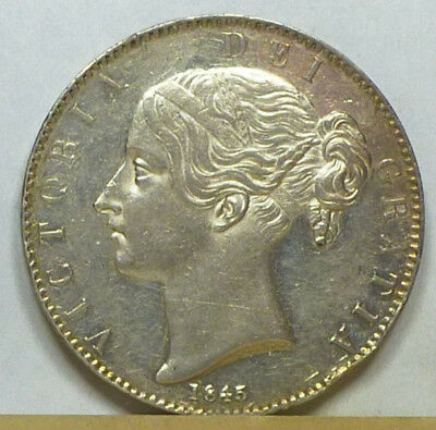 Great Britain Crown 1845 Extremely Fine