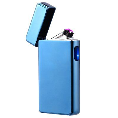 Atomic Electronic USB Lighter Dual X Arc Plasma Blue Windproof Flameless