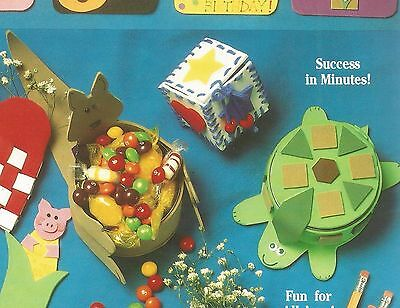Fun with Foam Patterns Kids Craft Pencil Toppers Magnets Bookmark Door signs A91