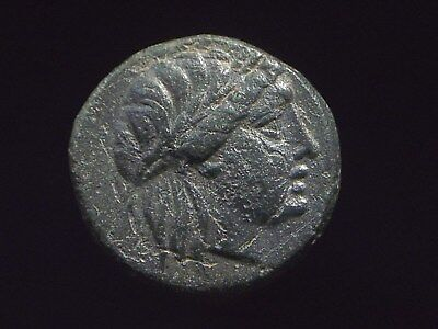 Authentic Greek coin form city of Alexander in Troas 3rd century BC CC8475