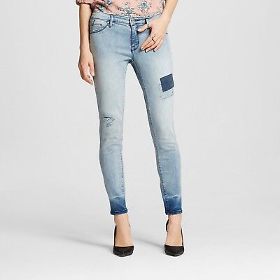 Womens Mossimo Mid-rise Jegging Light Wash