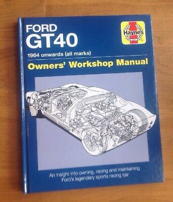 Haynes Ford GT40 - Owners Workshop Manual (Hardback), Non Fiction Book, New