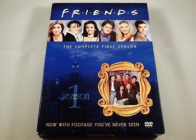Friends - The Complete First Season DVD 4-Disc Set Jennifer Aniston