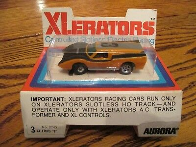 Aurora Xlerator Ford J - Mint In The Pack- Pack Has Some Creases