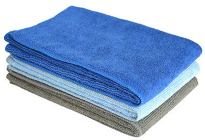 Sinland Microfiber Cleaning Towel Home Car Detailing Drying Towel 16X24 3 Pack