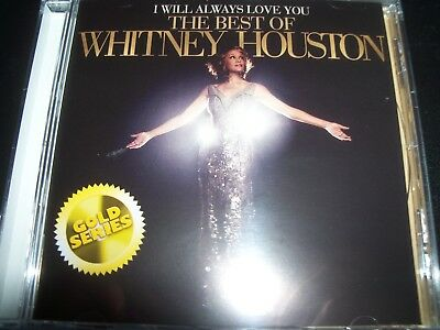 WHITNEY HOUSTON I Will Always Love You: The Best Of (Gold Series) CD – New