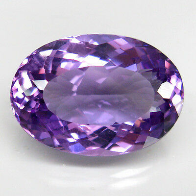13.6ct.SPARKLING! 100%NATURAL RICH PURPLE AMETHYST UNHEATED (URUGUAY) AAA