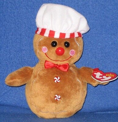21138559b7d TY BEANIE BABY Set ~ HANSEL   GRETEL the Gingerbread Man ~ MINT with ...