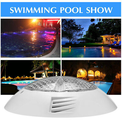 24V 18W LED Colorful Swimming Pool Light RGB Underwater Lamp With Remote Control