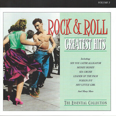 Various Artists : Rock an Roll - Greatest hits vol 3 (1999) CD Album Compilation