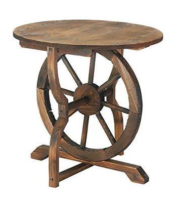 Zingz and Thingz Wagon Wheel Table - Home & Kitchen