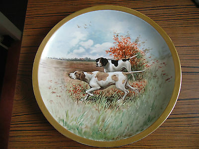 Theodore Haviland Limoges-Plat Rond-Scene De Chasse