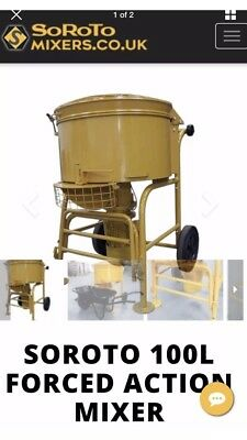Forced Action Resin Mixer for hire
