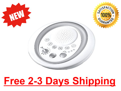 Sleep Sound Therapy Machine White Noise Night Sleeping Aid Timer 6 Relax Sounds