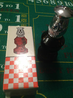 Vintage Avon The King Chess Piece Decanter After Shave Bottle Collectibles