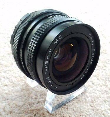 Carl Zeiss Jena P 29mm f/2.8 M42 Wide Angle Lens