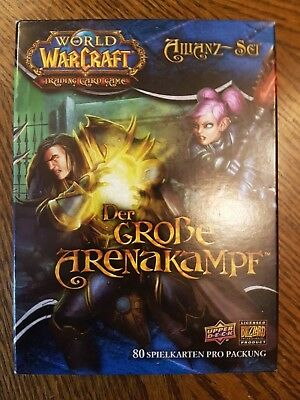World of Warcraft TCG - Der große Arenakampf - Allianz-Set - mit OVP