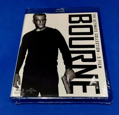 BOURNE the ultimate collection cofanetto 5 film blu ray