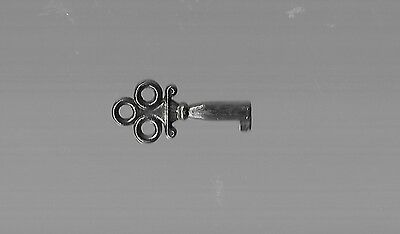 Vintage, Chrome colored SKELETON KEY, One & half inch