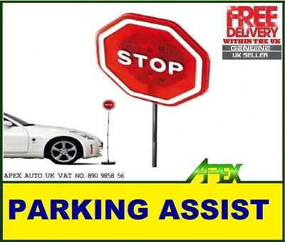FLASHING Stop Sign LED Light Parking Stop Sign for Garage Flashes When Bumped!