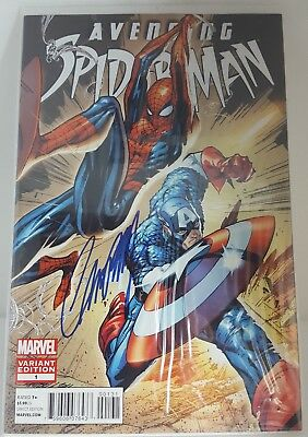 Avenging Spider-Man #1 1:100 Variant SIGNED BY J.SCOTT CAMPBELL - NM